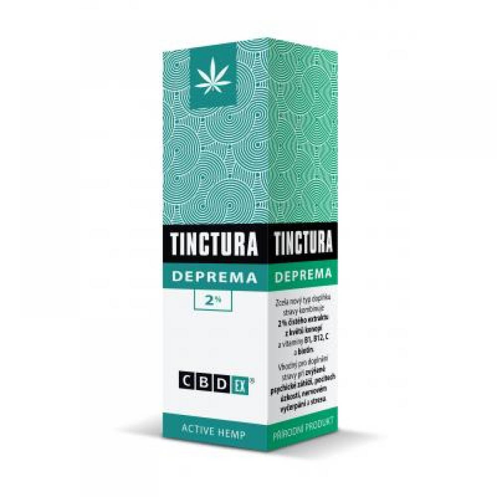 CBDex Tinctura deprema 2% 20 ml