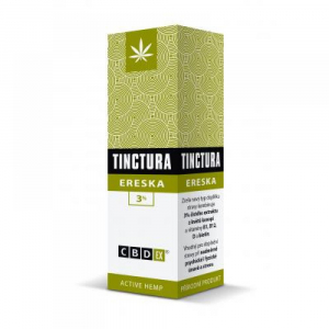 CBDex Tinctura ereska 3% 20 ml