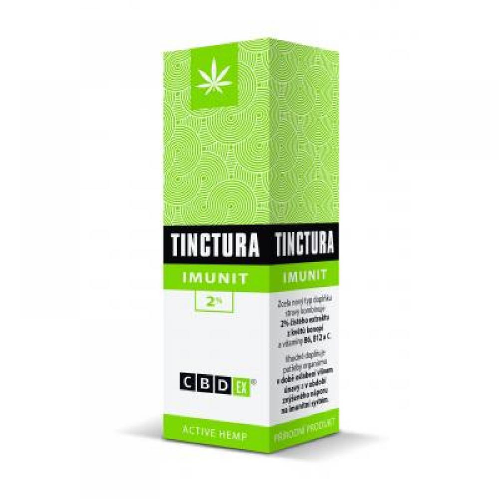 CBDex Tinctura imunit 2% 20 ml