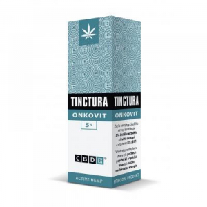 CBDex Tinctura onkovit 5% 20 ml
