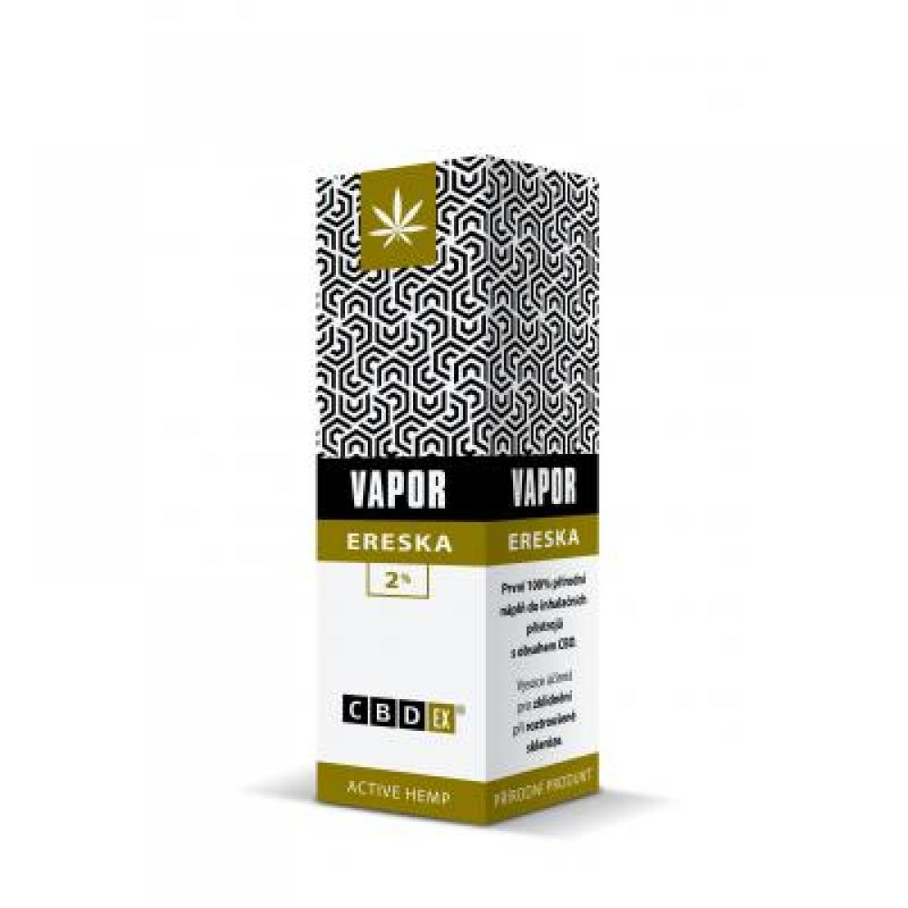 CBDex Vapor ereska 2% 10 ml