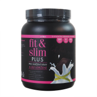 FIT&SLIM Plus Čokoláda royal 416 g