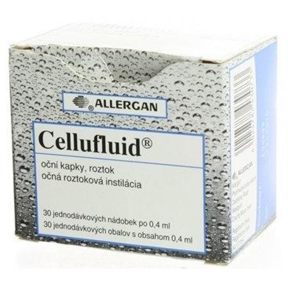CELLUFLUID oční kapky, roztok 30 x 0,4 ml/2 mg