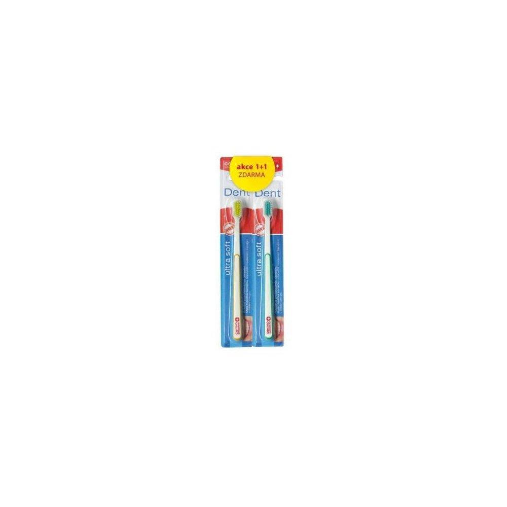 CEMIO Dent Ultra Soft zubní kartáček 1 + 1 zdarma