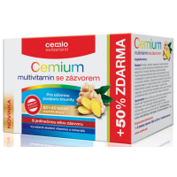 CEMIO Multivitamin+zázvor 80+40 tablet