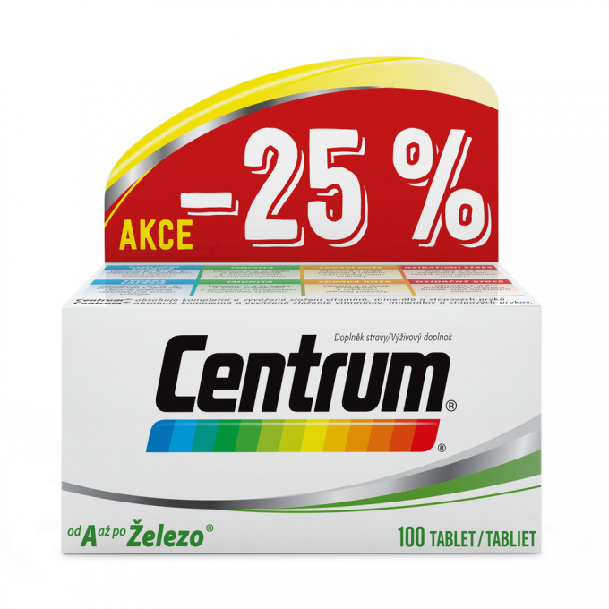 CENTRUM AZ 100 tablet