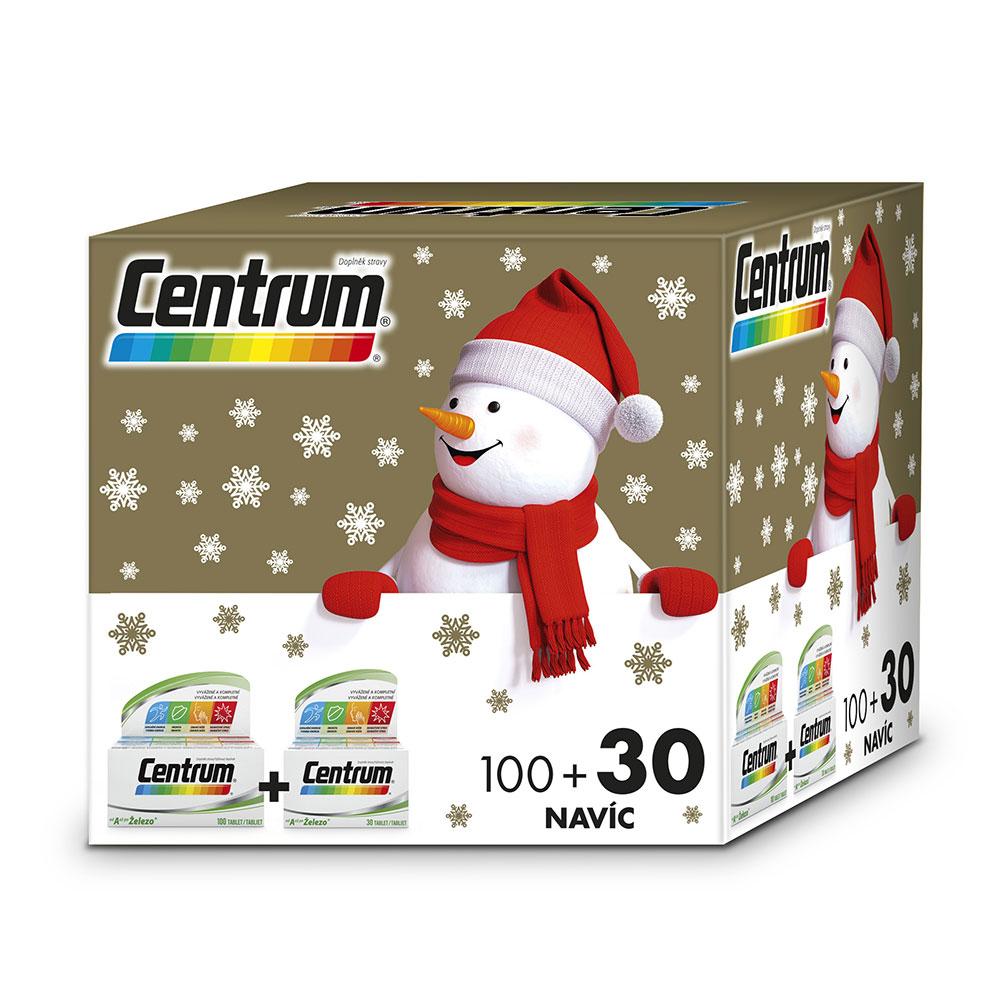 CENTRUM AZ s multi-efektem vánoční 100 + 30 tablet