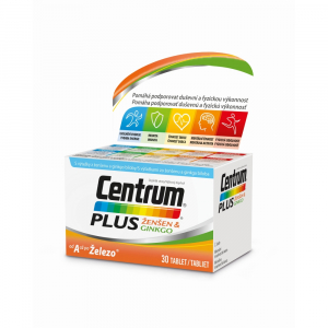 CENTRUM Plus Ženšen&Ginkgo 30 tablet