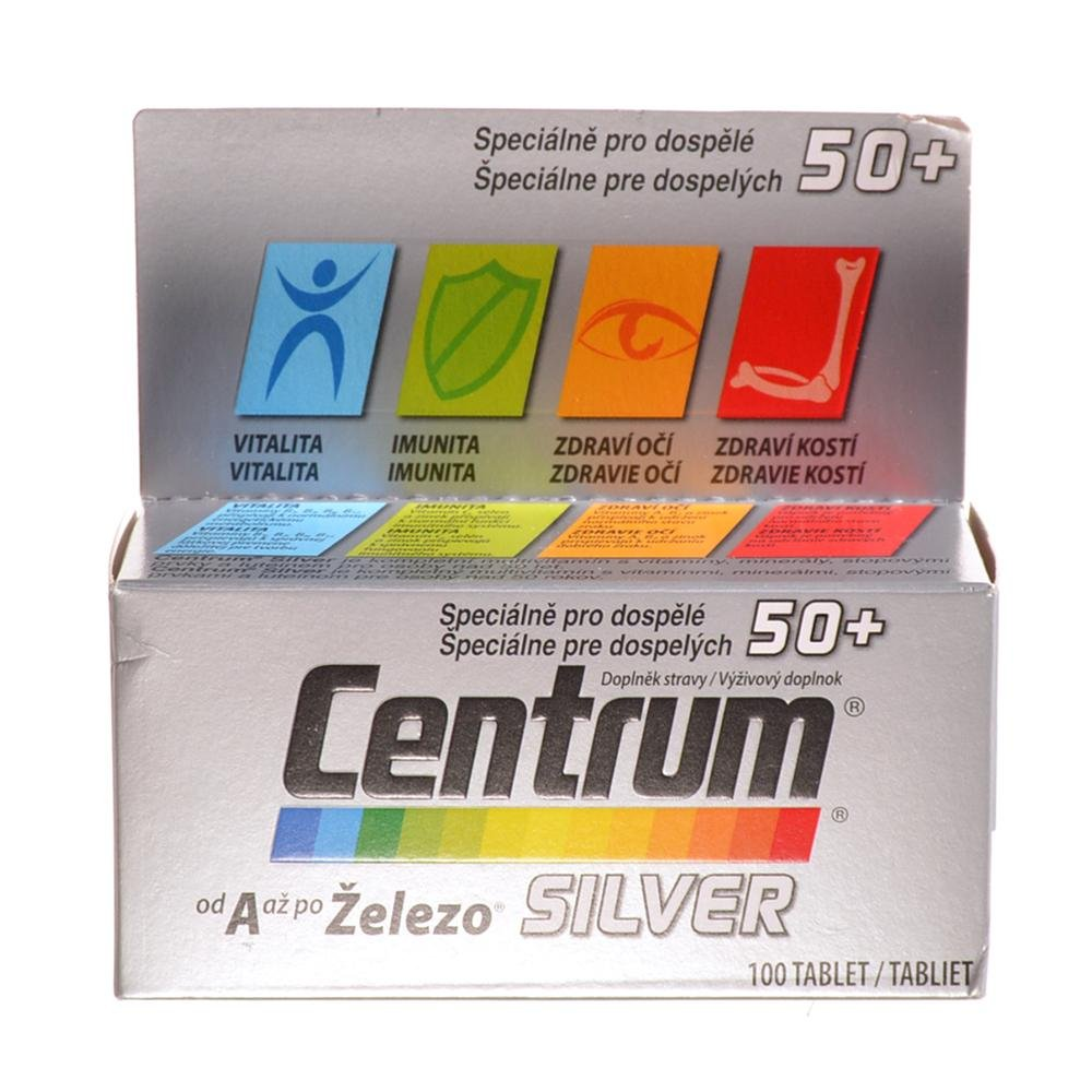 CENTRUM Silver s Multi-Efektem 100 tablet