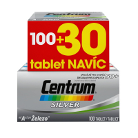 CENTRUM Silver nad 50 let 100+30 tablet