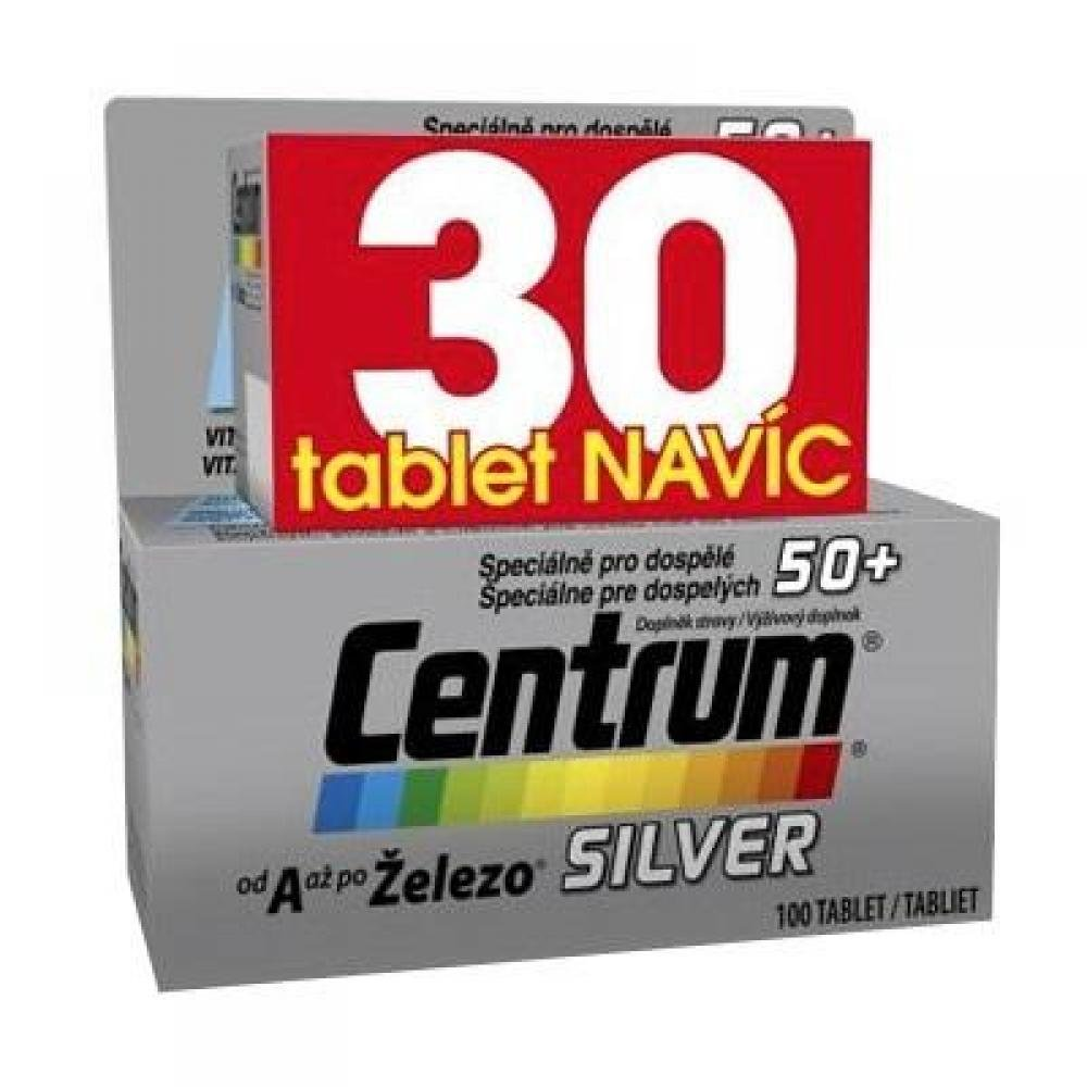 CENTRUM Silver s Multi-Efektem 100+30 tablet