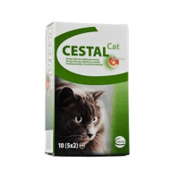 CEVA ANIMAL Cestal Cat 10 tablet