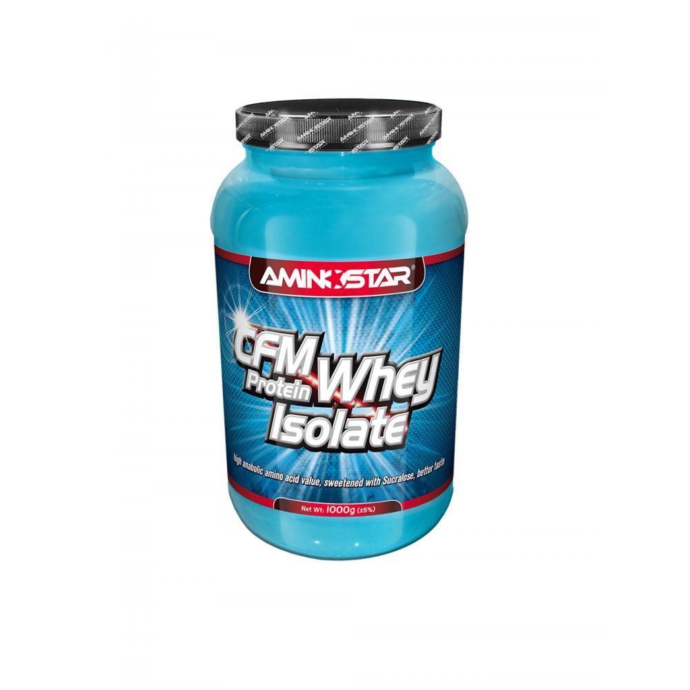 AMINOSTAR CFM Whey protein isolate jahoda 1000 g