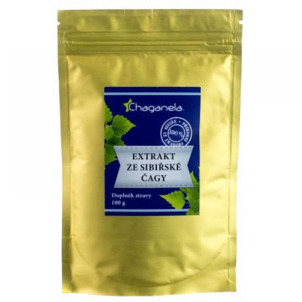 CHAGANELA Extrakt ze sibiřské čagy 100 g