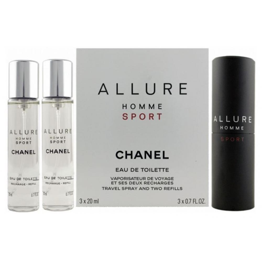 Chanel Allure Sport Toaletní voda 3x20ml