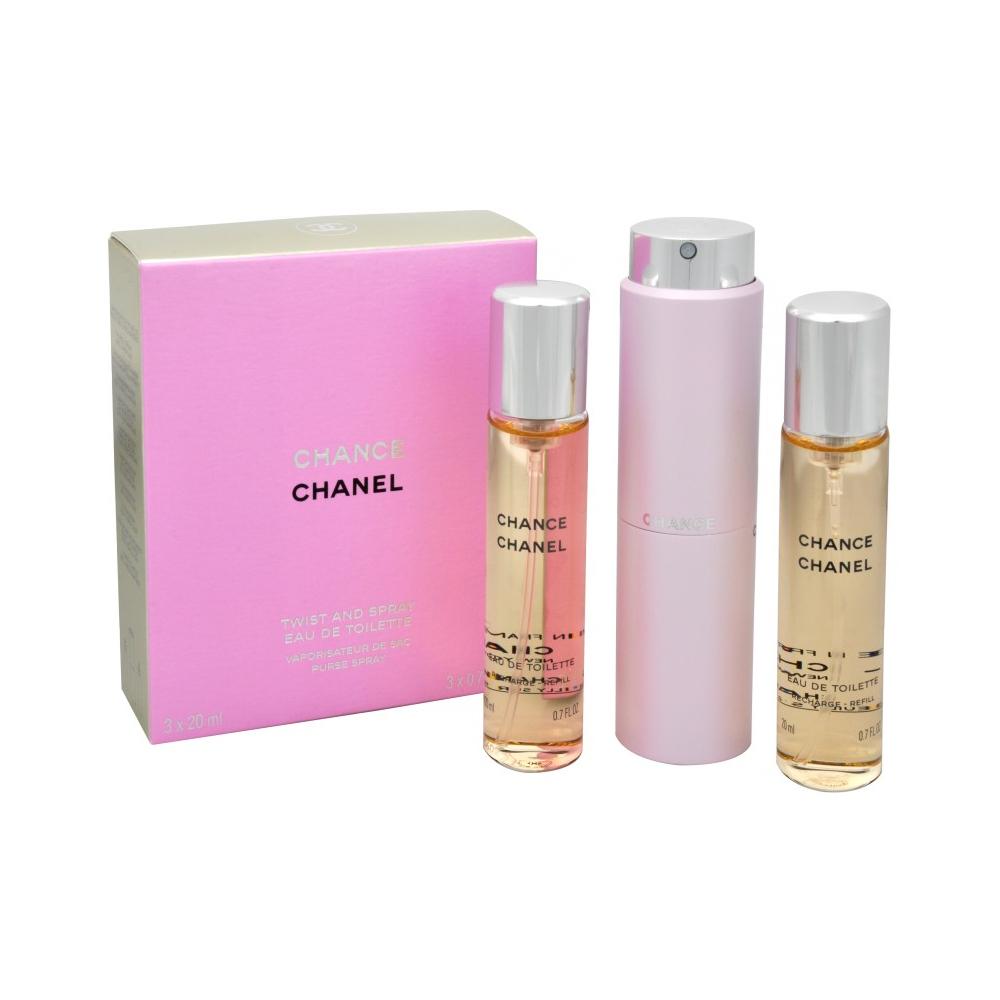 Chanel Chance toaletní voda 3 x 20 ml