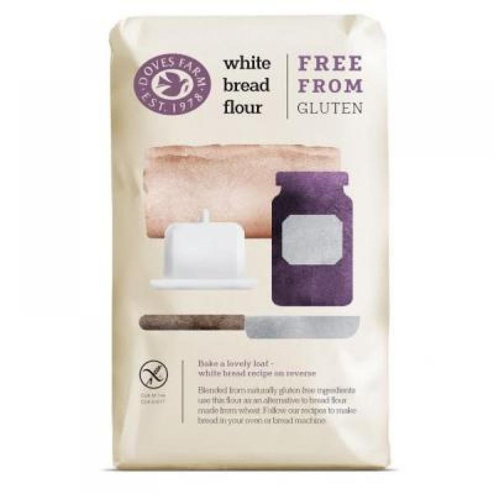 DOVES FARM Chlebová směs bílá bez lepku 1000 g