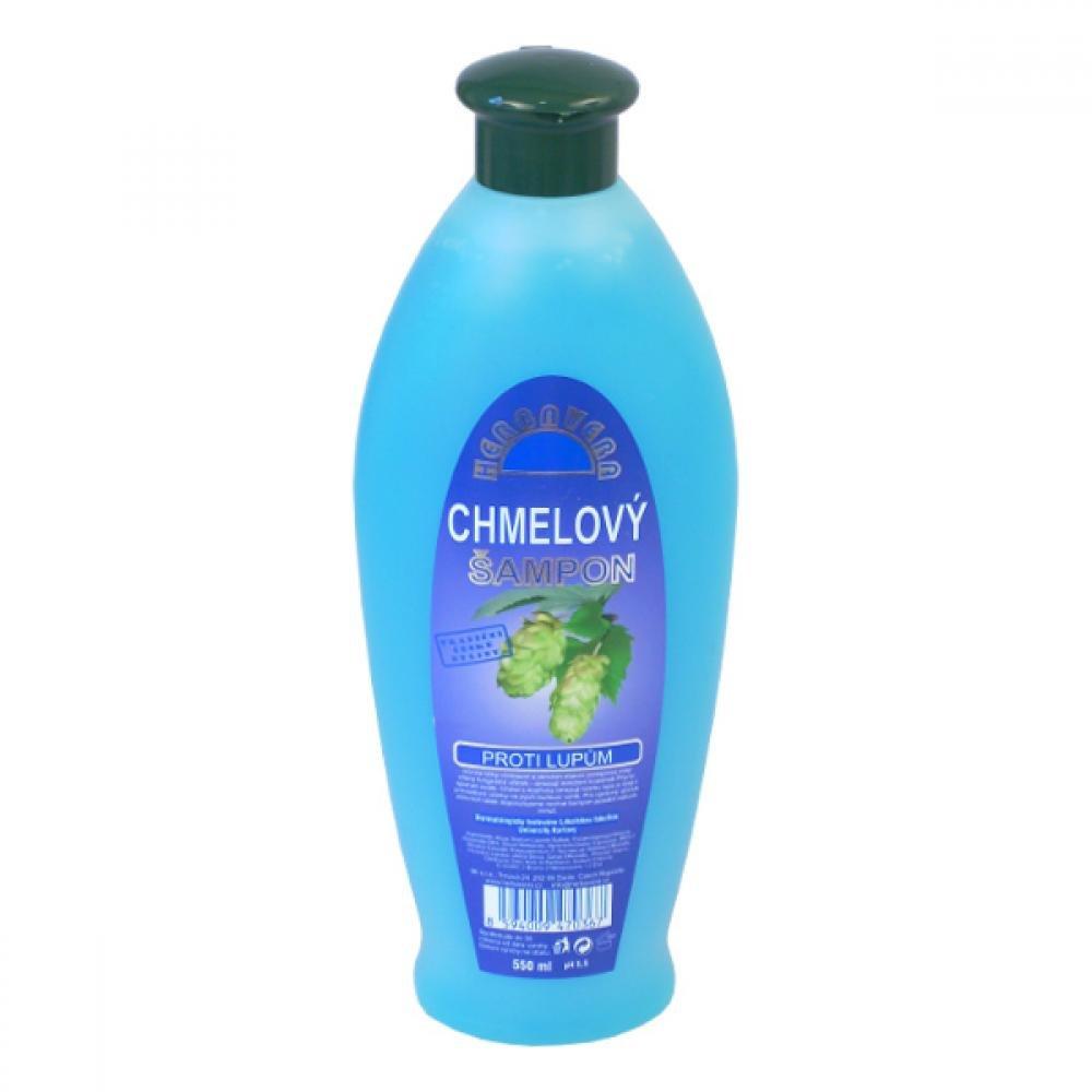 Chmelový šampon HERBAVERA proti lupům 550ml