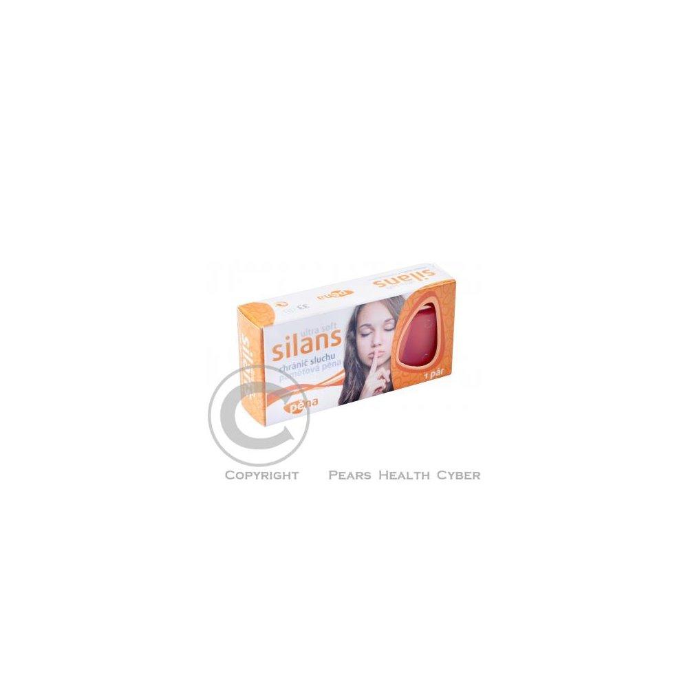 Chránič sluchu SILANS STANDARD Ultra Soft paměťová pěna