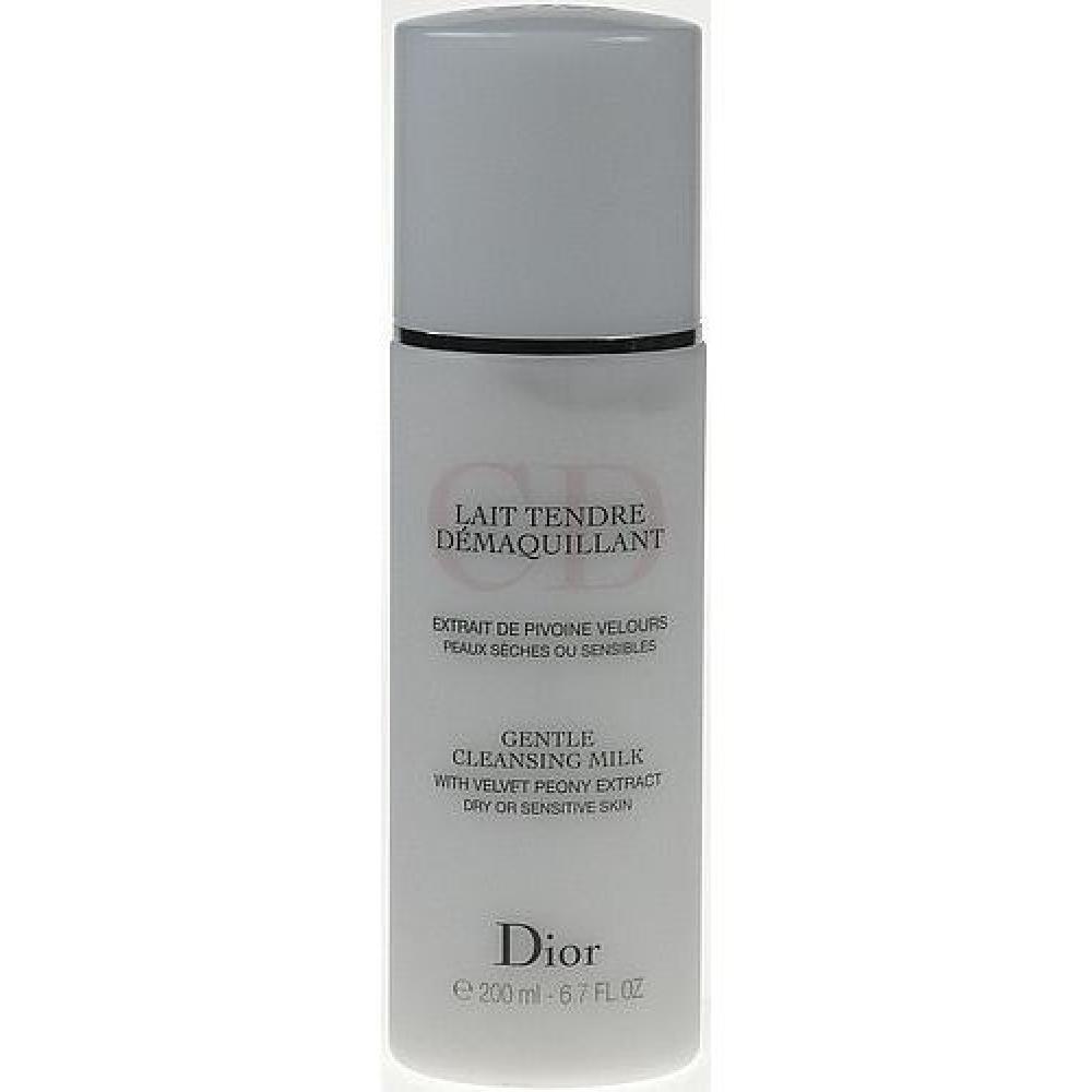 Christian Dior Gentle Cleansing Milk 200ml Suchá a citlivá pleť