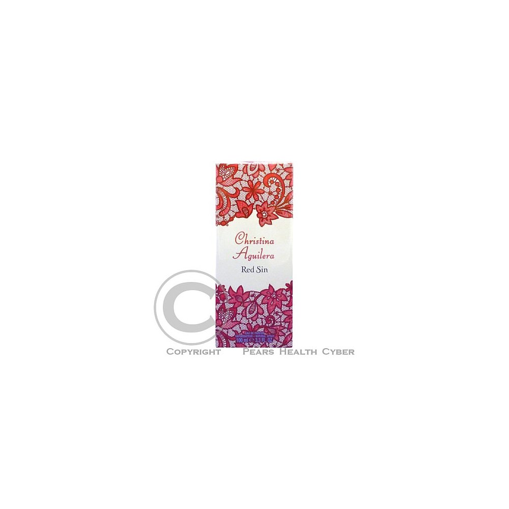 Christina Aguilera Red Sin edp 100ml
