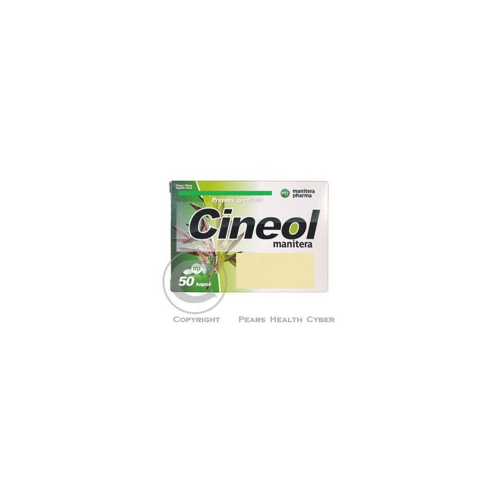 Cineol manitera 100mg cps.50