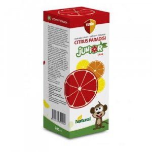 VIRDE Citrus paradisi Junior sirup 200 ml