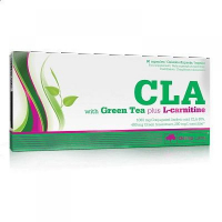 OLIMP LABORATORIES CLA with green tea plus L-carnitine - sportovní výživa 60 kapslí