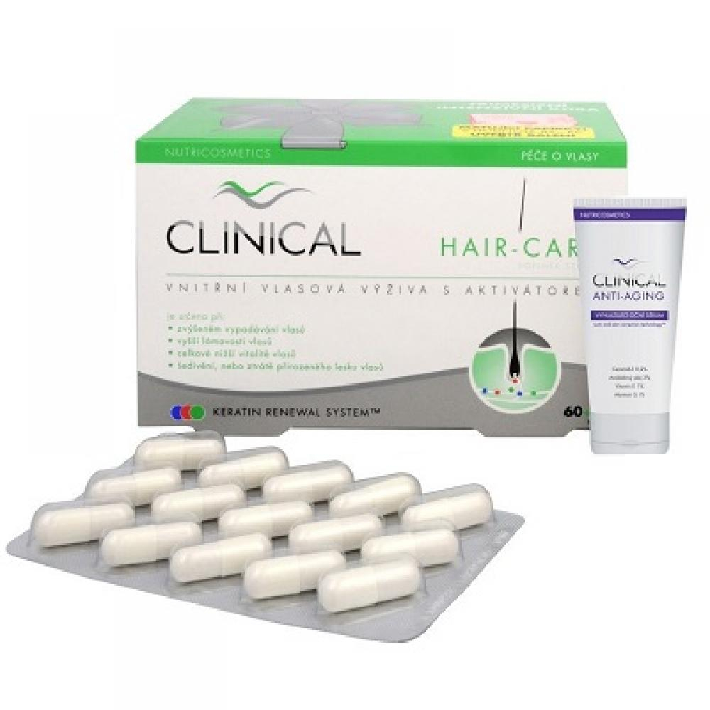 CLINICAL HAIR-CARE 60+30 tobolek + oční sérum ZDARMA