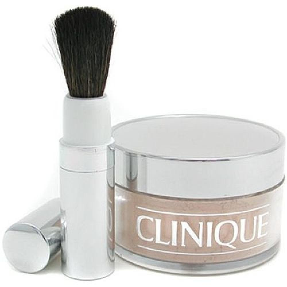 Clinique Blended Face Powder And Brush 02 35g Odstín 02 Transparency