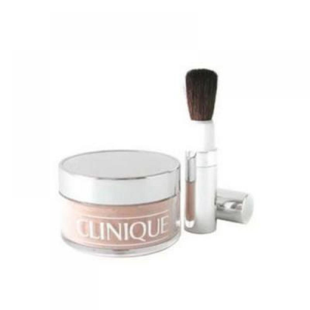 Clinique Blended Face Powder and Brush 35 g odstín č. 04