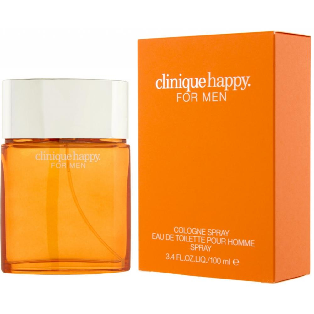 Clinique Happy For Men - kolínská voda s rozprašovačem 100 ml