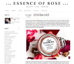 Obsahový marketing - blog Essence of Rose