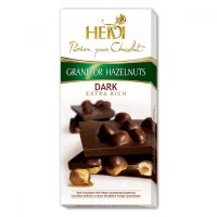 Čokoláda Grand´or whole hazelnuts dark 100g