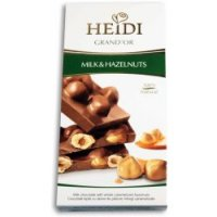 Čokoláda Grand´or whole hazelnuts milk 100g