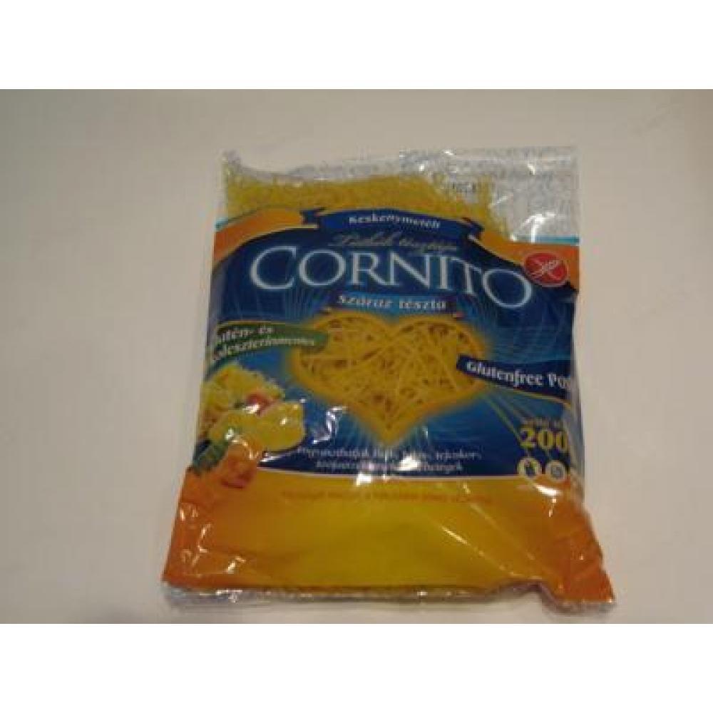 CORNITO bezlepkové těstoviny do polévky nudličky tenké krátké 200 g