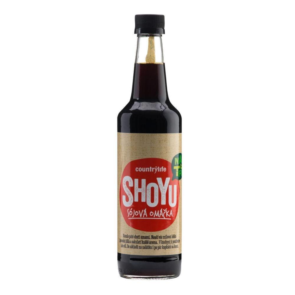 COUNTRY LIFE Shoyu sójová omáčka 500 ml