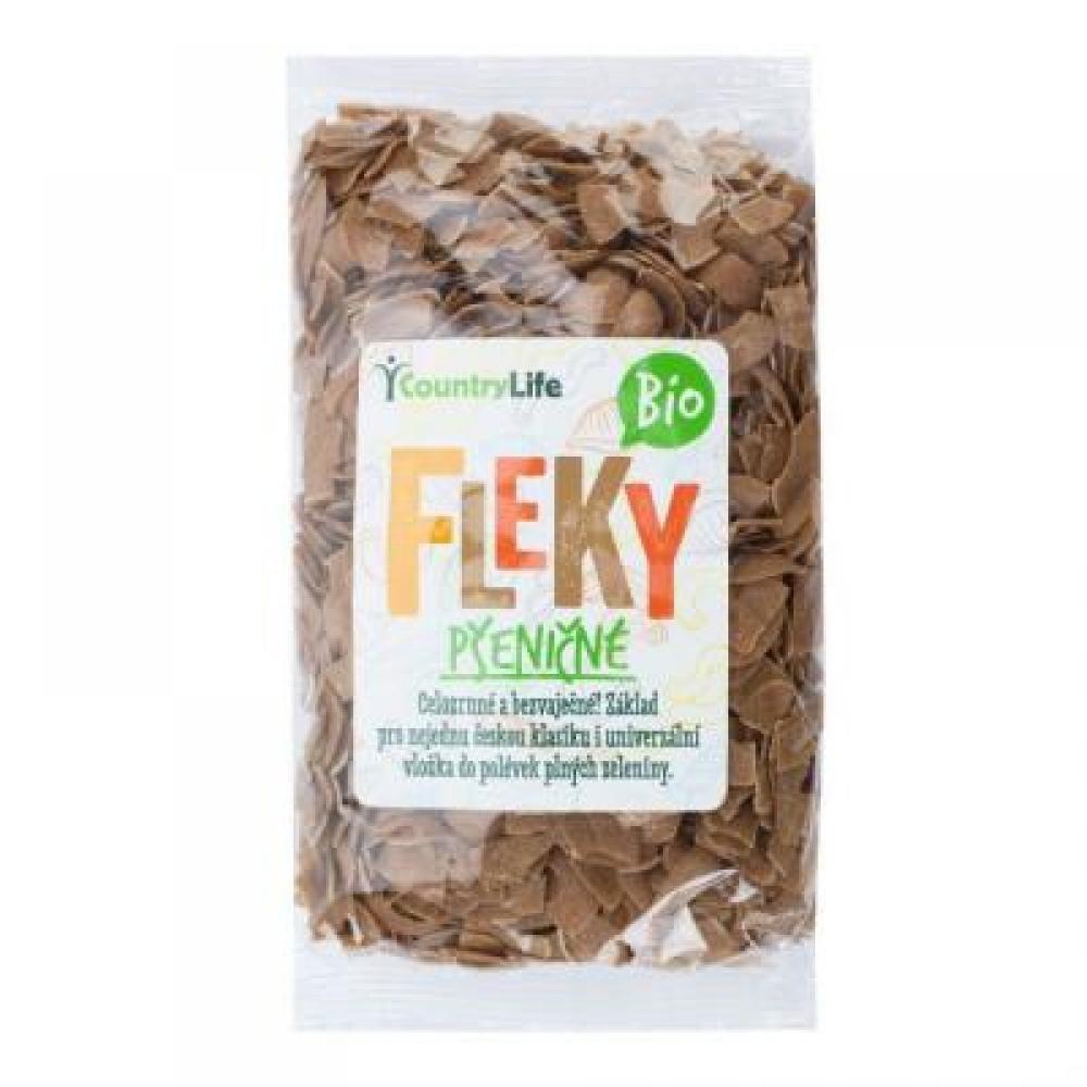 COUNTRY LIFE Těstoviny fleky pšeničné BIO 400 g