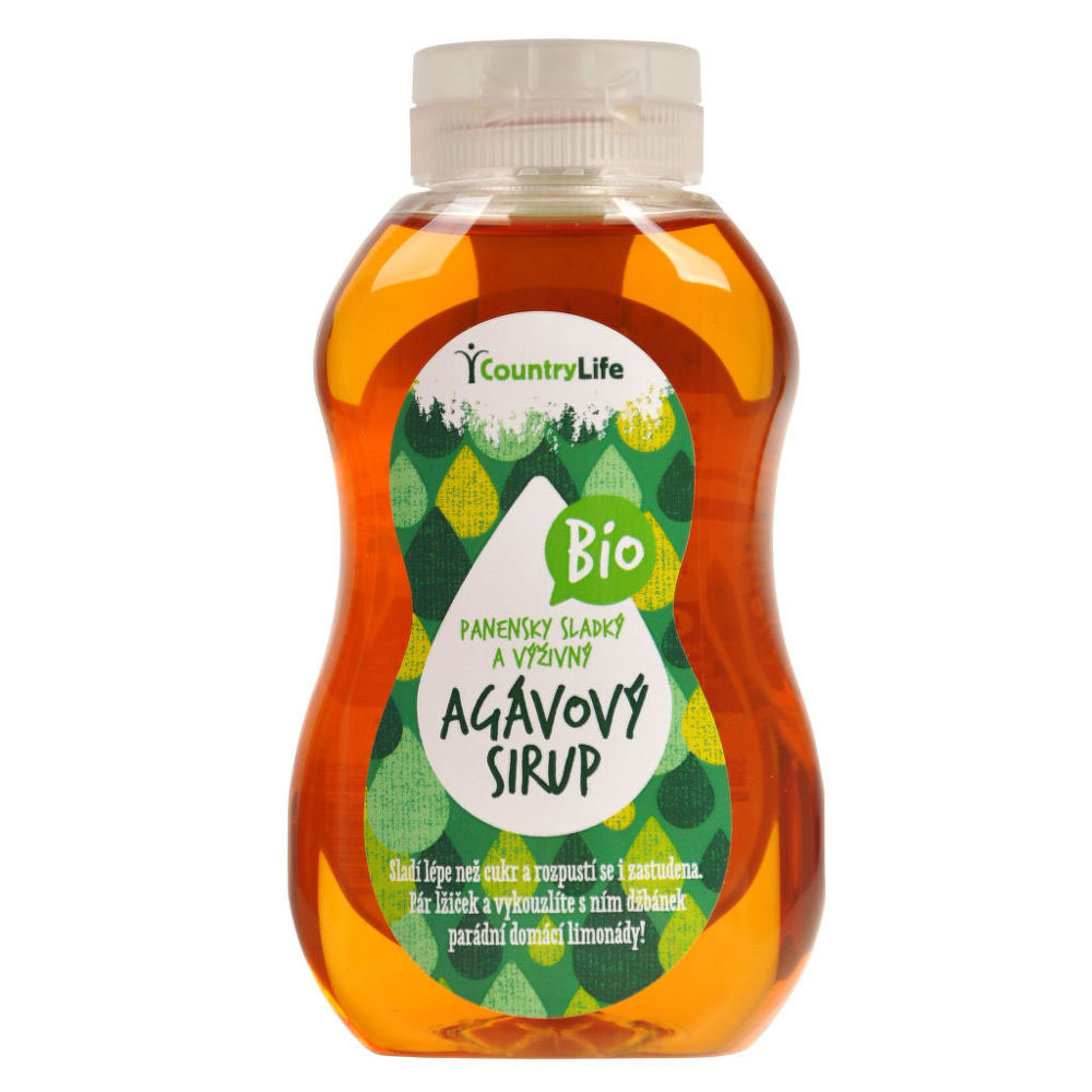 COUNTRYLIFE Agávový sirup BIO 900 ml