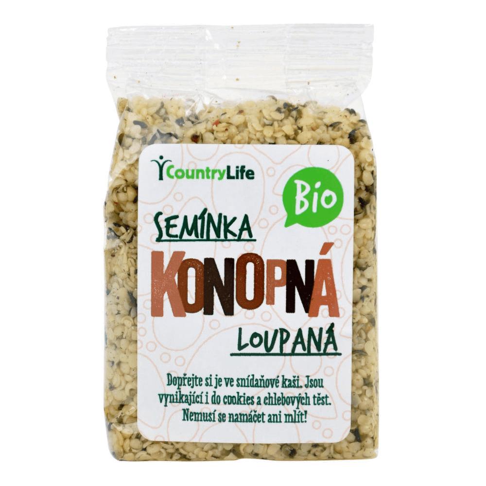 COUNTRYLIFE Konopná semínka loupaná 100 g