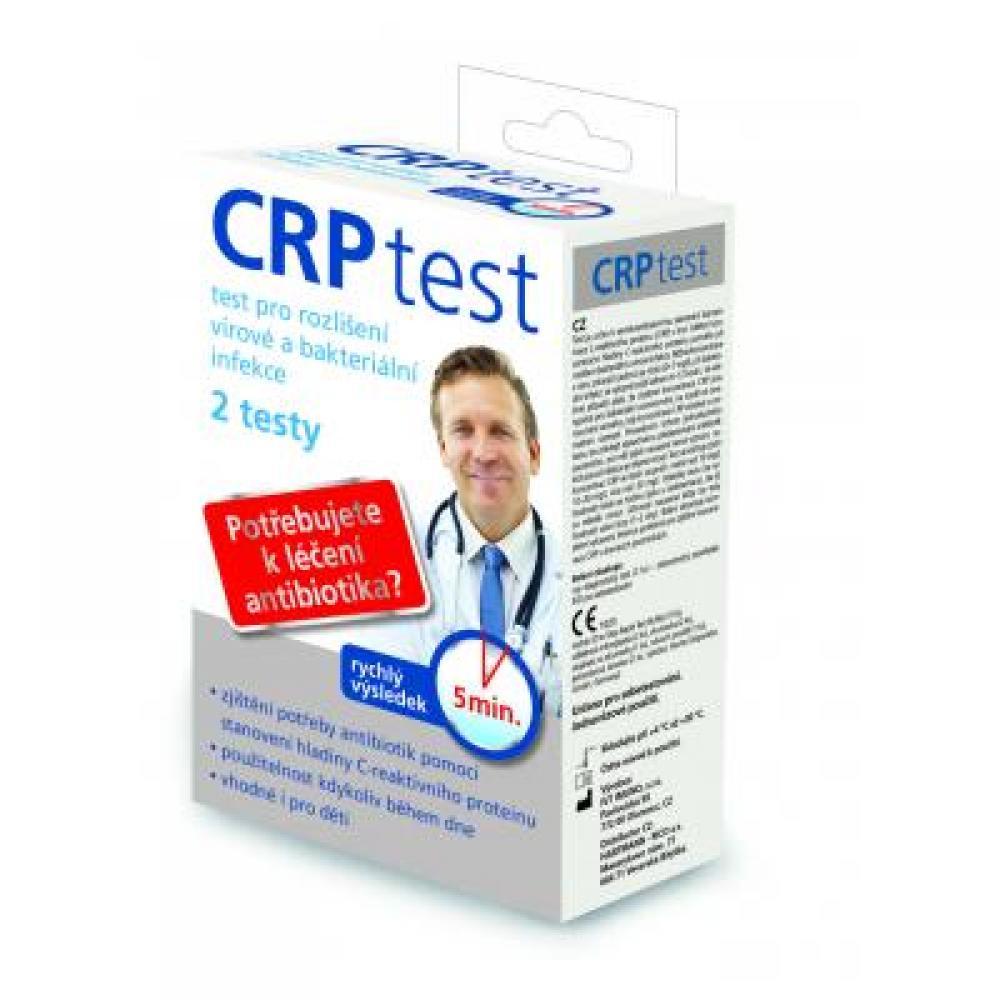 CRP test pro rozlišení virové a bakteriální infekce 2 testy