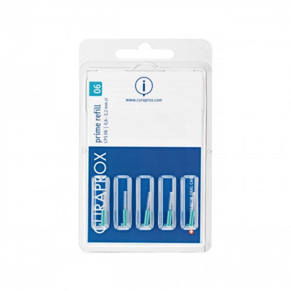 CURAPROX Náhradní mezizubní kartáčky CPS06 Prime 5 kusů