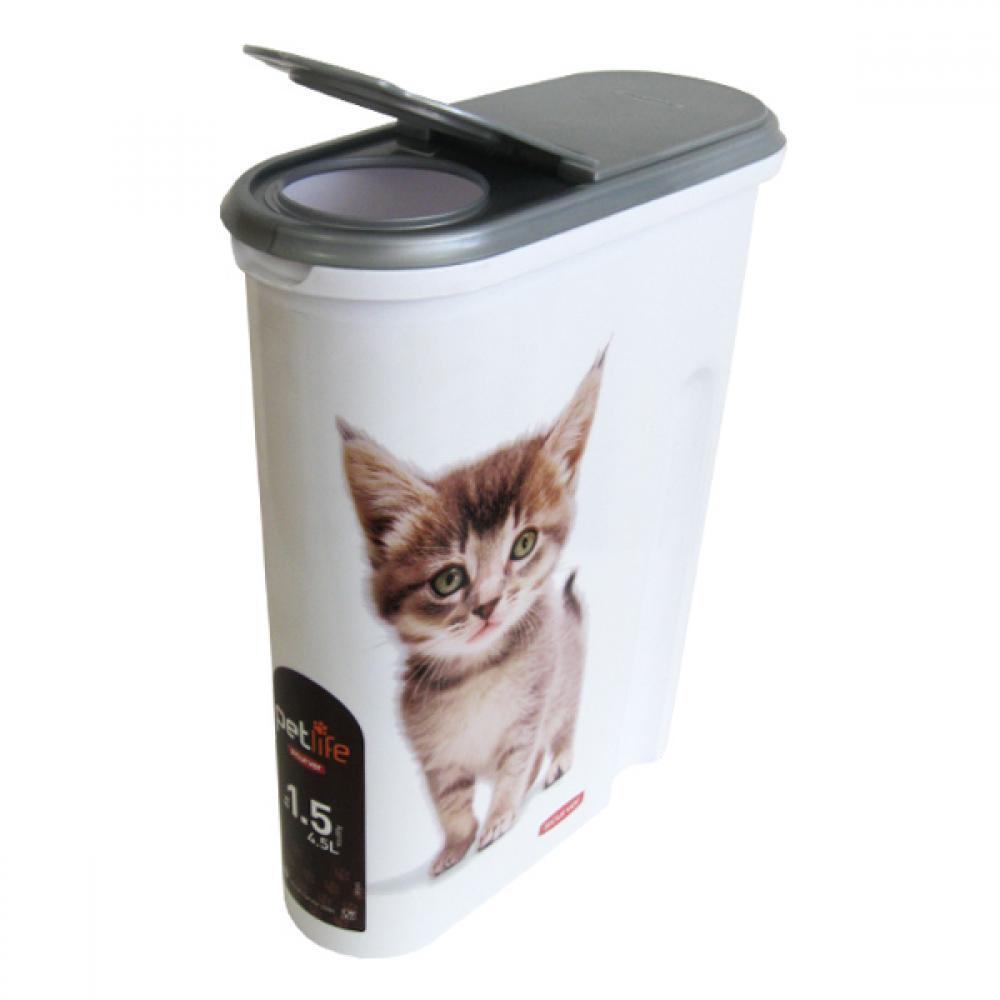 Curver kontejner na suché krmivo 1,5kg kočka
