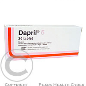 DAPRIL 5  30X5MG Tablety