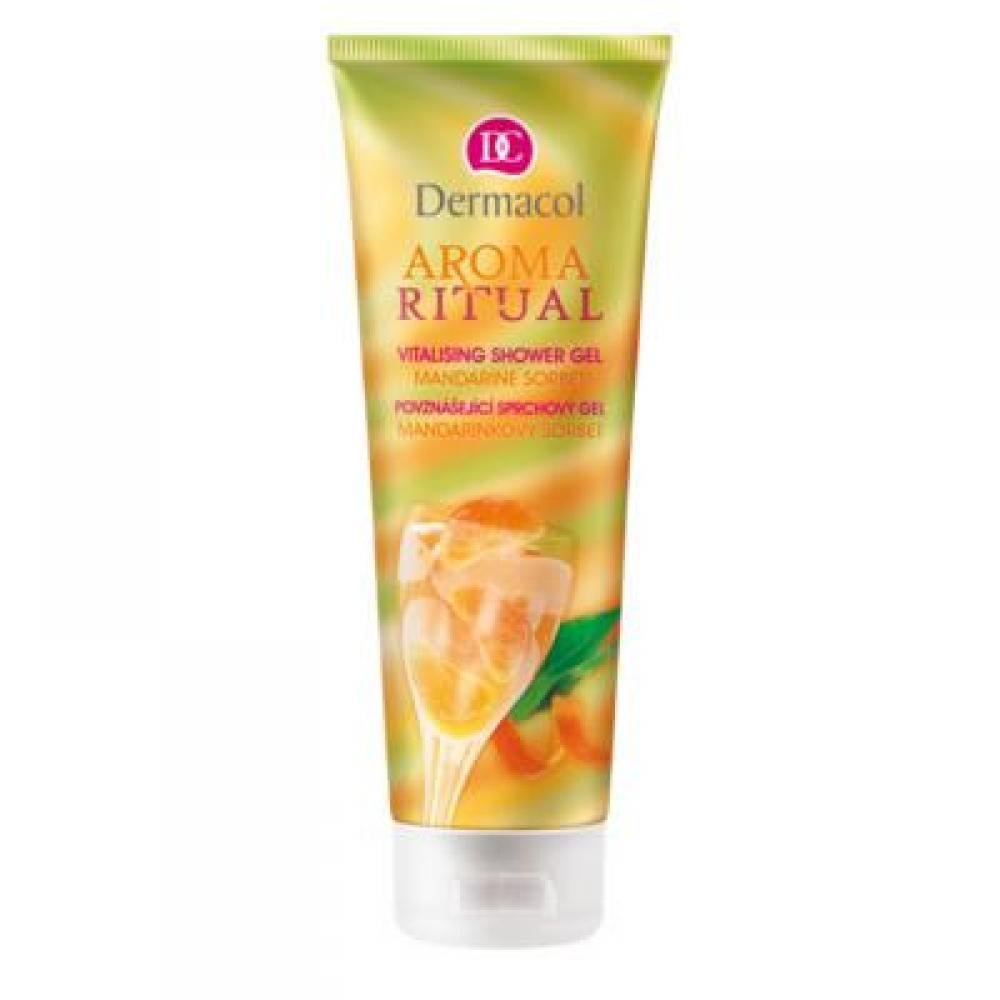 DERMACOL Sprchový gel mandarinkový sorbet 250 ml
