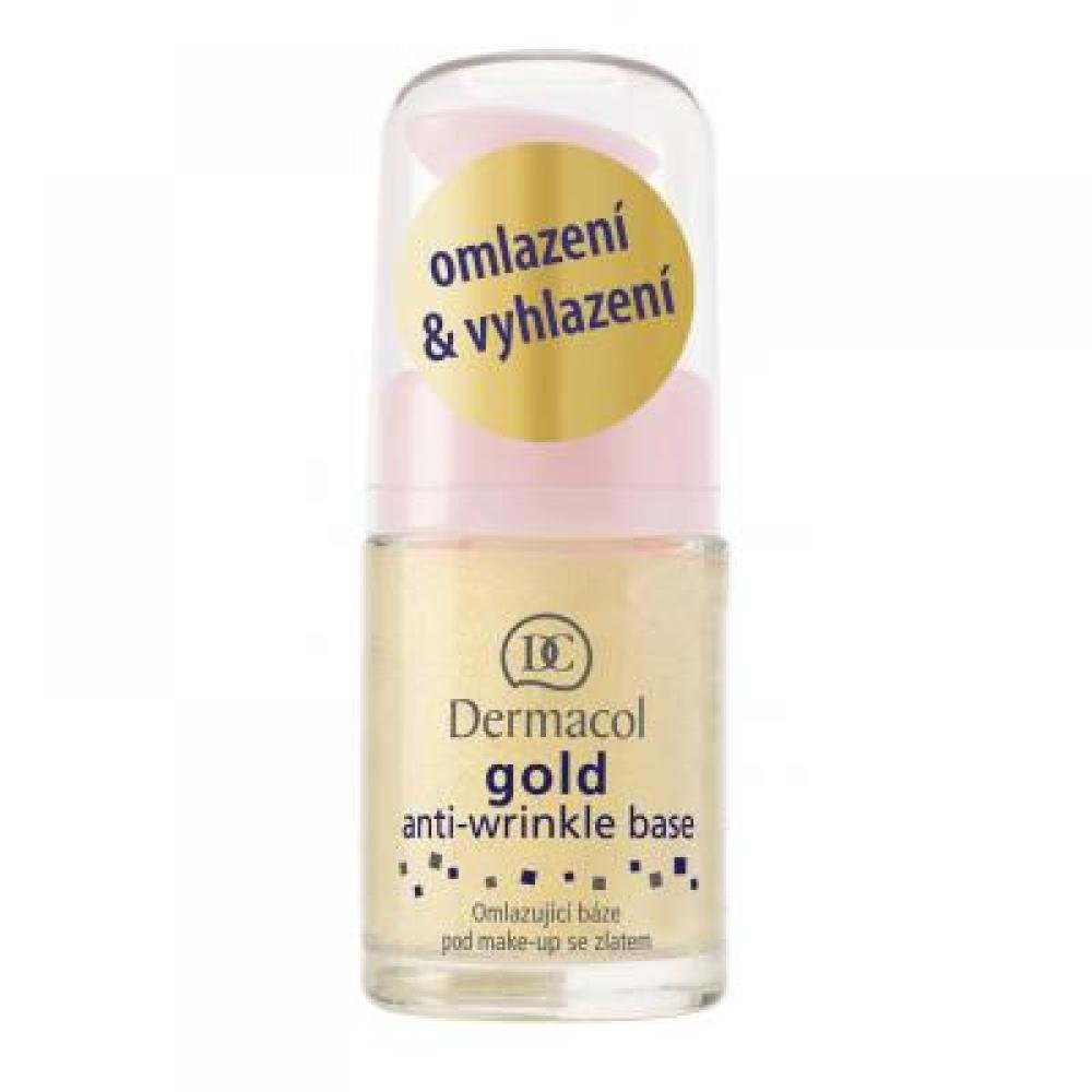 DERMACOL báze pod make-up se zlatem 15 ml