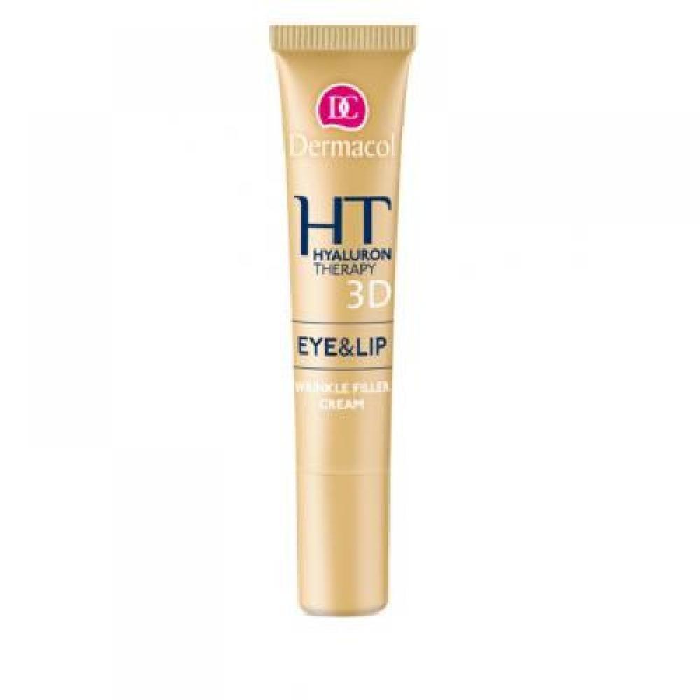 DERMACOL 3D Hyaluron Therapy Remodelační krém na oči a rty 15 ml