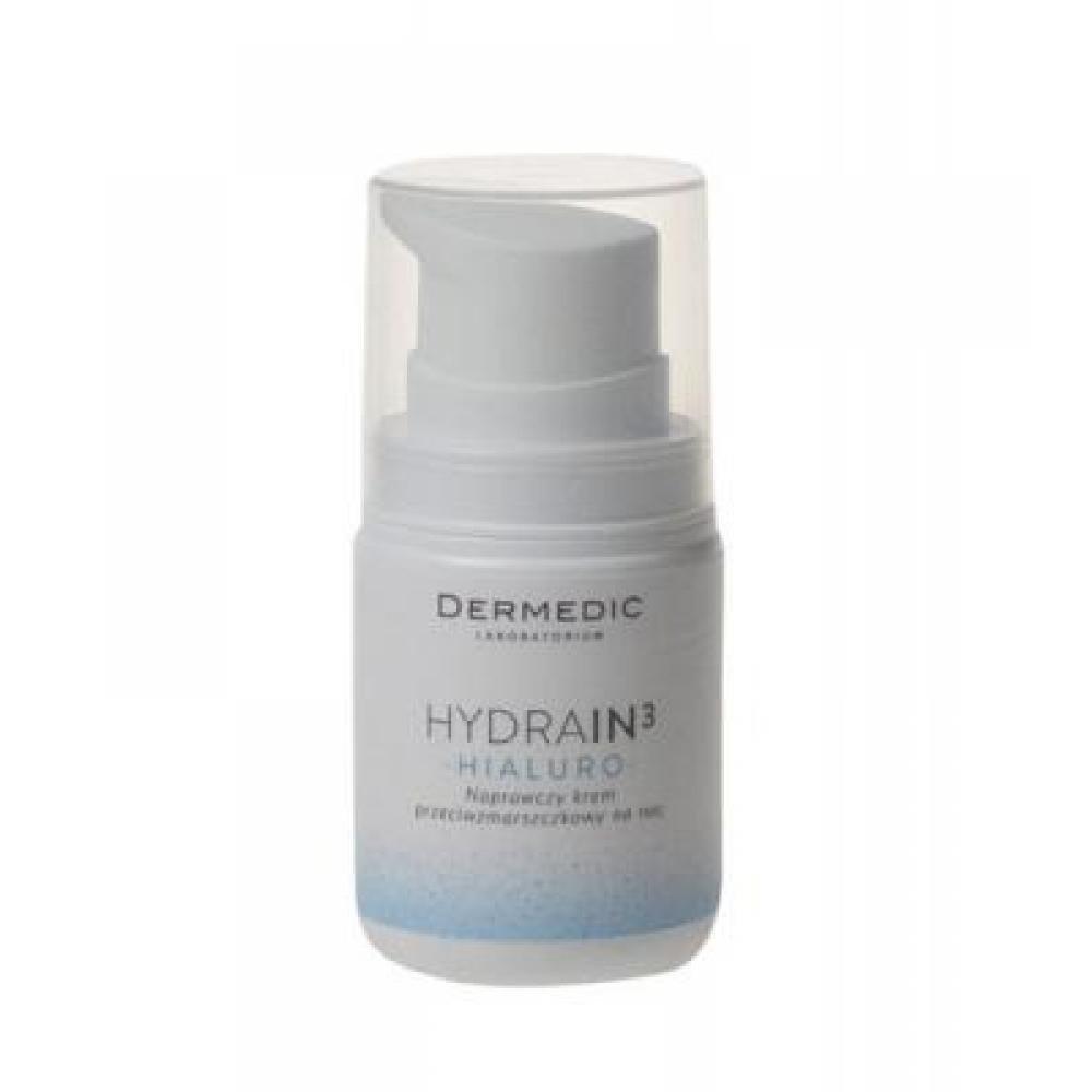 DERMEDIC HYDRAIN3 Hialuro - Hydratační noční krém proti vráskám 55 g