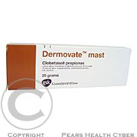 DERMOVATE  1X25GM 0.05% Mast