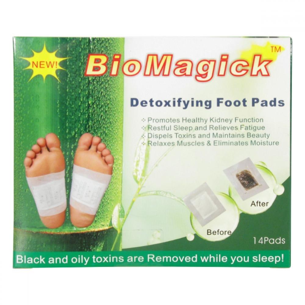 Bio-detox detoxikační náplasti Biomagick 14 polštářků